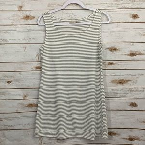 LOGO By Lori Goldstein Striped Thermal Tank Tunic